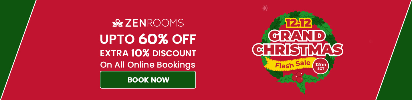 ZenRooms Christmas Exclusive Offer